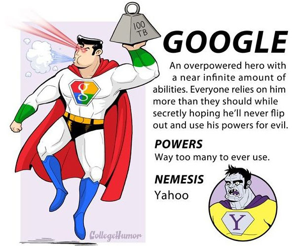 A search engine has a lot of power