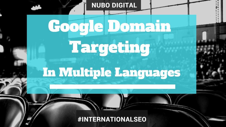 Google Targeting Languages